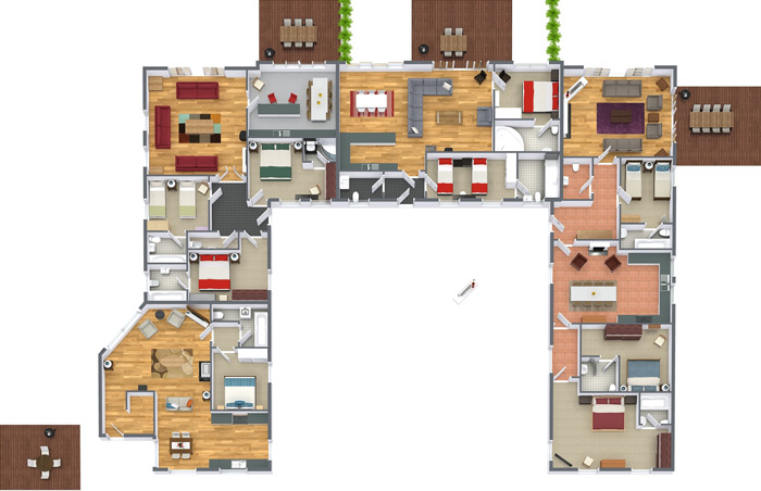 Garmoran Floor Plan