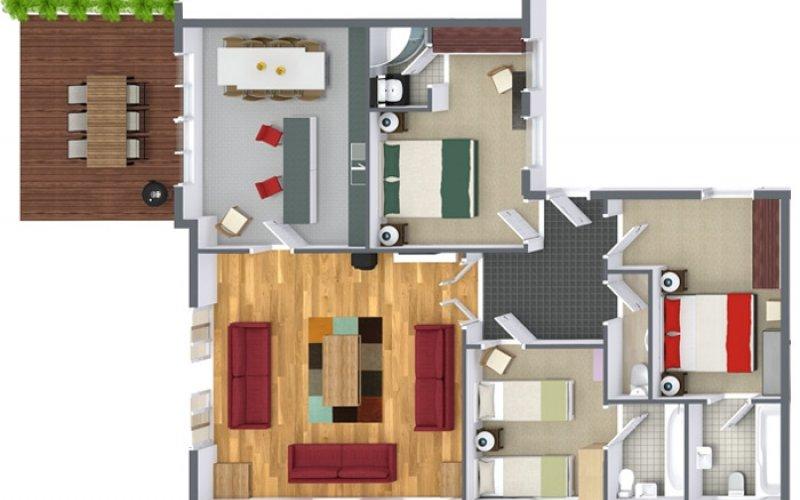 Tioram Floor Plan